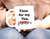 funny coffee mugs, Unique Mugs, Funny Tea Mug, Unique Men Gift, Tea mug, tea Cup, Tea Gift, Funny Novelty Gag gifts, Tea Lover Mug