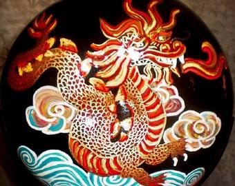 Art Chinese Dragon Gourd Home Decor