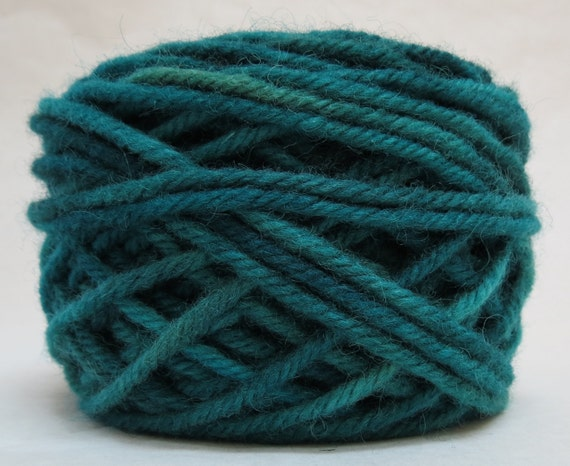 POND, 100% Wool, 2 ozs. 43 yards, 4-Ply, Bulky weight or 3-ply Worsted weight yarn, already wound into cakes, ready to use. Made to Order