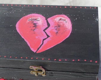 Broken Heart Jewlery Box