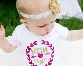 Big Sister Headband, Little Sister Headband, Sister Headband, Sister Bow, Little Sister Bow, Big Sister Gift, Little Sister Gift