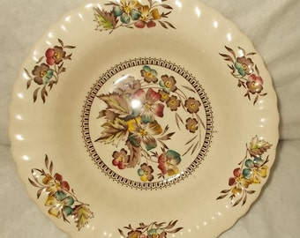 Wade England Meadow Coupe Soup Bowl Vintage Dinnerware Replacements Shipping Included