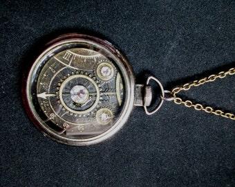Steampunk Watchworks Necklace