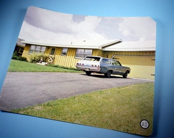 1976 Vintage Car and House Photo-Picture