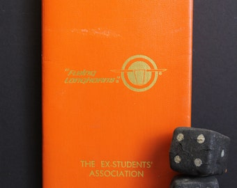 Vintage University of Texas Flying Longhorns Passport Ticket Holder // UT Ex-Students Association