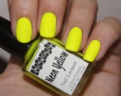 Neon Yellow 5-Free Nail Polish