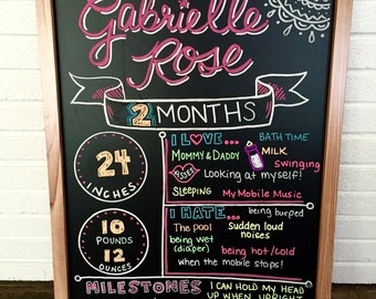 Birthday Chalkboards