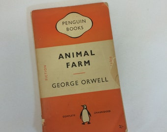 Animal Farm by George Orwell - 1952 Softcover