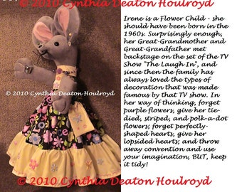 """PICK 1 > Personality Pictures For CDH """"Three Blind Mice..."""" - Personality Picture For 18"""" Dolls #7, #17, #24, #25, #27"""