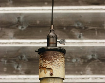 Industrial Pendant Light, FREE SHIPPING, Lighting, Industrial Lighting, Kitchen Lighting, Vintage Pendant, Pendant Lighting LL-104