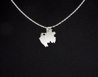 Gabon Necklace - Gabon Jewelry - Gabon Gift