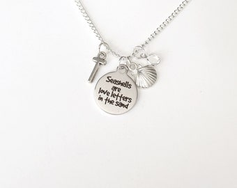 Personalized Seashells Necklace