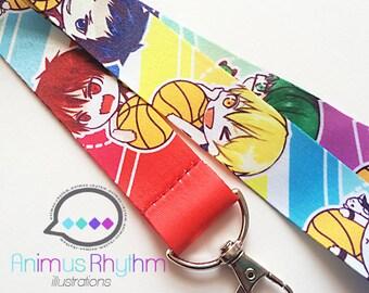 Kuroko no Basket Lanyard badge holder Anime
