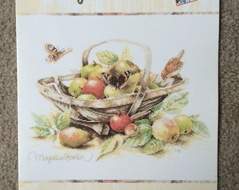 Summer Fruit Counted Cross Stitch Pattern by Marjolein Bastin