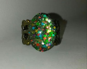 The Christmas Pinata Ring