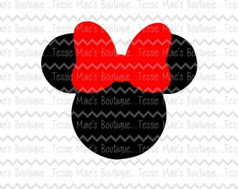 Minnie Mouse, SVG, DXF, EPS, Disney Shirt, Minnie Mouse Shirt, Birthday, Disney Vacation Shirt