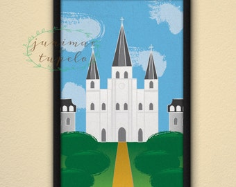 St. Louis Cathedral - New Orleans - Poster