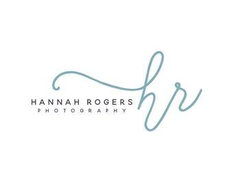Premade photography logo, photography watermark design, signature script logo, calligraphy font logo 305