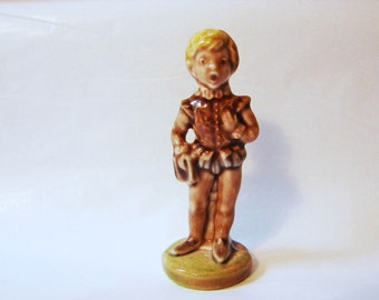 TOMMY TUCKER Wade Figurine, Large Wade Whimsies Made in England Wade Nursery Rhyme Figurine