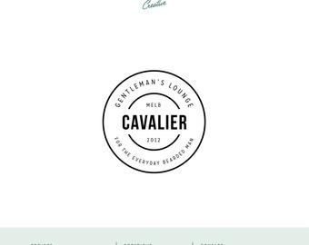 """Pre Made Logo Design - Small Business Logo - """"Cavalier"""""""
