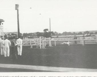 Flight Test - Vintage 1930s Equestrian on Super Jumper Photograph