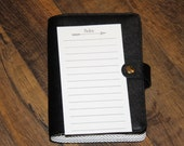 PRINTED – Personal Size Planner Inserts - Notes - 15 inserts (printed front & back