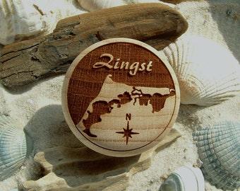 Zingst furniture knob furniture knob engraving East Sea Spa Bodden-