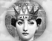 Queen, Original Cavalieri melamine plate