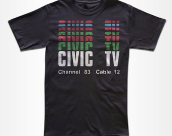 Civic TV T Shirt - Graphic tees for Men, Women & Children
