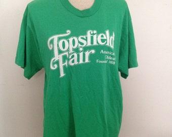 Vintage Topsfield County Fair Tshirt