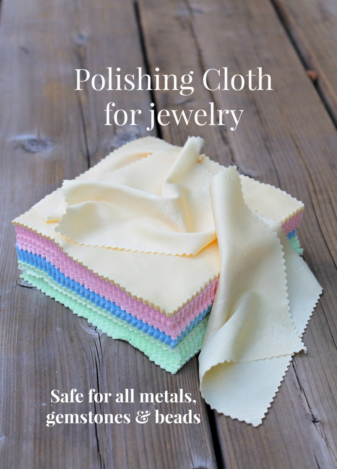 how to clean a jewelry polishing cloth