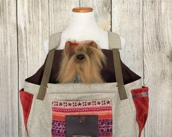 Dog Carrier-Pink Pet Carrier