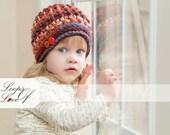 Crochet Pattern Colden Beanie Unisex Baby Toddler Child Teen Adult Boy Girl