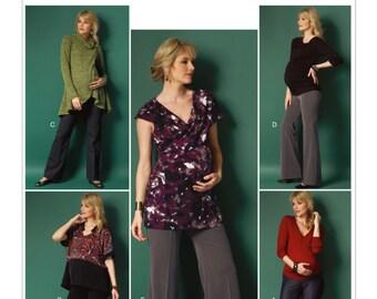 UNCUT Maternity Pants Sewing Pattern Butterick 5964 Size 6-8-10-12-14-16-18-20-22 Flare, Skinny, Boot Cut, Work Pants, Maternity Leggings