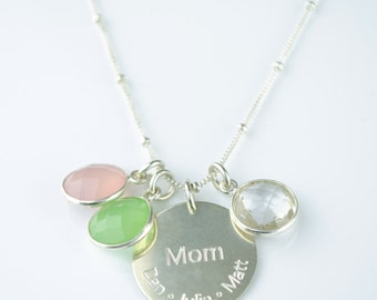 Personalized mothers necklace, mothers jewelry, kids name necklace, mom neckalce, mommy necklace, personalized gift for grandmother gifts