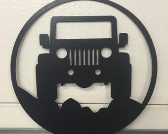 jeep  GARAGE SIGN