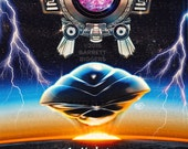 Flight of the Navigator Inspired Epic 80s Film Teaser Poster - signed museum quality giclée fine art print