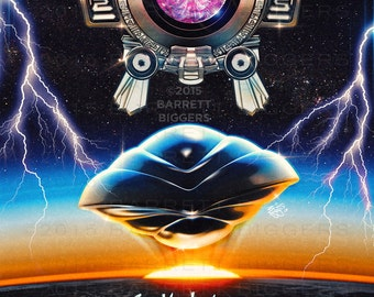 See you later Navigator Inspired Epic 80s Film Teaser Poster - signed museum quality giclée fine art print