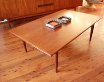 Popular Items For Teak Coffee Table On Etsy