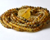 Amber Necklace, Multistrand Necklace, statement amber necklace, Baltic Amber Jewelry