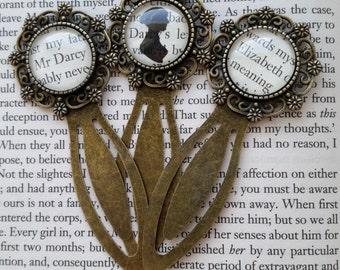 Jane Austen Book Page Pride and Prejudice Bookmark Emma Persuasion