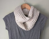 Winter White Scarf . Whit...