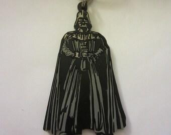 """Star Wars DARTH VADER Rubber Keychain 1997 Applause 3 1/2""""  Lucasfilm"""