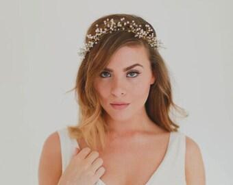 Valeria - Crystal Bridal Headpiece Halo