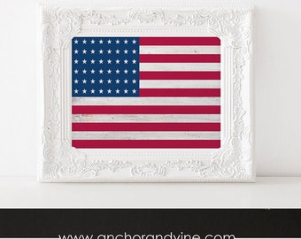 DIGITAL DOWNLOAD // USA Flag