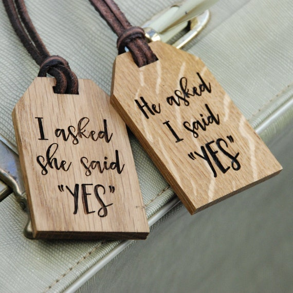 Personalised Luggage Tags Wedding Gift : Newlyweds Luggage TagsWedding GiftPersonalised Luggage TagMr ...