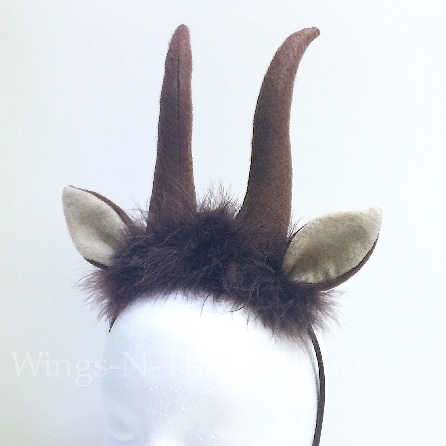 how to make gazelle horns for a costume