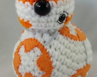 Crochet BB8 inspired toy