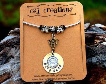Beautiful Anam Cara (Soul Friend) & Claddagh Bracelet, Valentine's Day Gift, St. Patrick's Gift Christmas Gift, Irish Celtic Wedding Gift