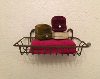 Antique wire soap dish